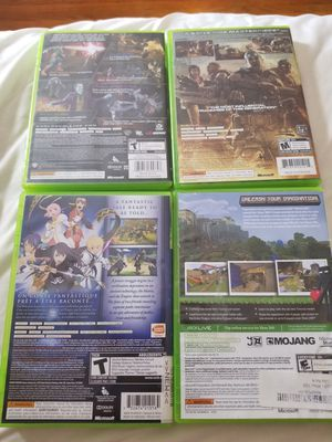 4 Xbox 360 Games for Sale in Providence, RI