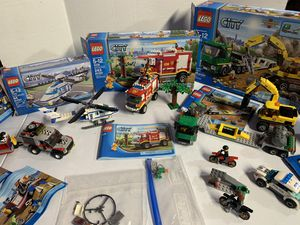 Lego, lego city, fire truck , collectibles for Sale in Lakewood, CA
