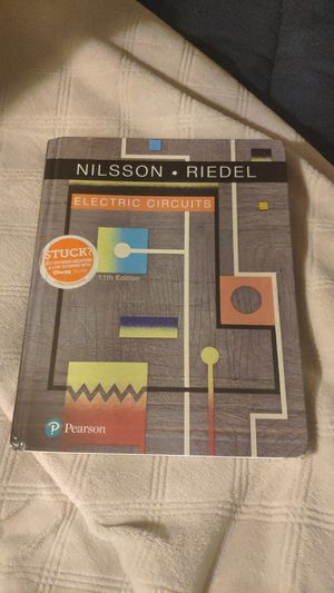 Electric Circuits 11th ISBN: 0134746961 for Sale in Shoreline, WA