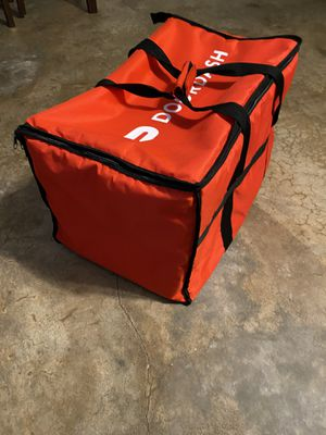 """Delivery Bag Catering Door Dash Insulated Carrier Large Size 14"""" x 22"""" Strap Like new for Sale in San Bernardino, CA"""