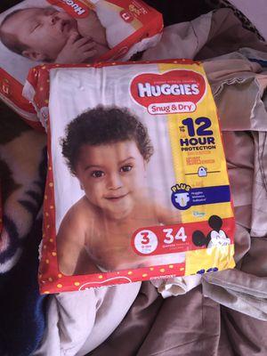 Huggies (size 3 )6$ each for Sale in Nashville, TN
