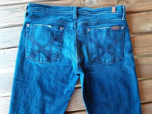 "$25 Seven for all Mankind ""Mia"" jeans women juniors size 32 for Sale in Powell Butte, OR"