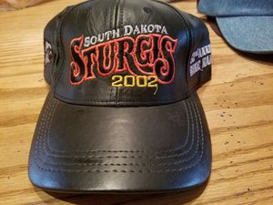 2002 Sturgis Leather Hat for Sale in Lakeside, AZ