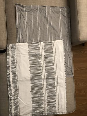 Gray and White Queen bedding set for Sale in Burke, VA