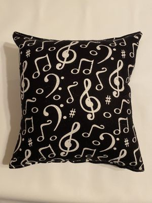 Music note musicians travel size pillow for Sale in Lancaster, PA
