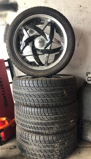 """18"""" rims and tires for Sale in Columbus, OH"""