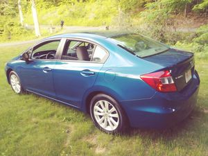 2012 Honda Civic EX with 114k in mint condition rebuilt title due to the small side scratch for Sale in West Springfield, MA