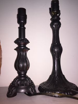 Two Antique Lamps for Sale in Greenville, SC
