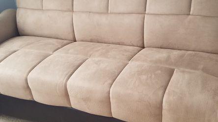 Futon Sofa Bed w/storage for Sale in Gunpowder,  MD
