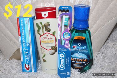 Old Spice/ Crest/ Oral B for Sale in Tampa,  FL