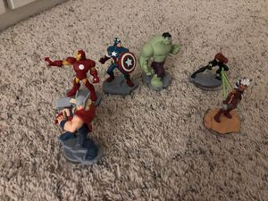 Disney infinity characters for Sale in Buckley, WA