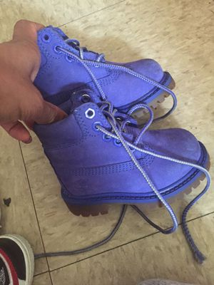 Royal blue Timberlands 4C for Sale in Miami, FL