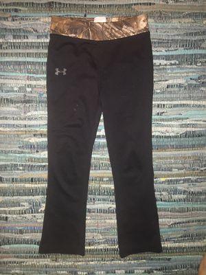 4T kids black UA pants worn once for Sale in Navarre, FL