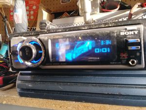 High end Sony CDX-GT72W for Sale in Indianapolis, IN