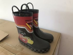 Cars rain boots size 12 for Sale in Willow Spring, NC
