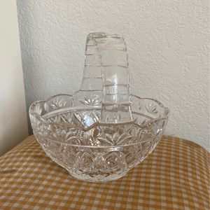 Crystal Basket for Sale in North Richland Hills, TX