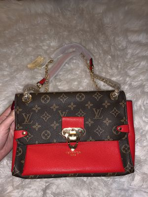 Red/Monogram Purse for Sale in Fort Worth, TX