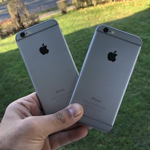 Two iPhone 6 Unlocked works for Any Company and overseas international any country. great condition works perfect . No scratches or cracks. iCloud unl for Sale in Midland Park, NJ