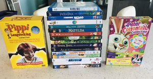 Memorex Scan DVD Player Plus 16 Assorted DVD's & 2 Boxed Sets for Sale in Bonney Lake, WA