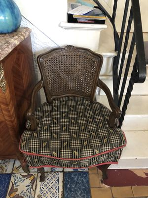 Refinished Antique Chair with Caning for Sale in Coral Gables, FL