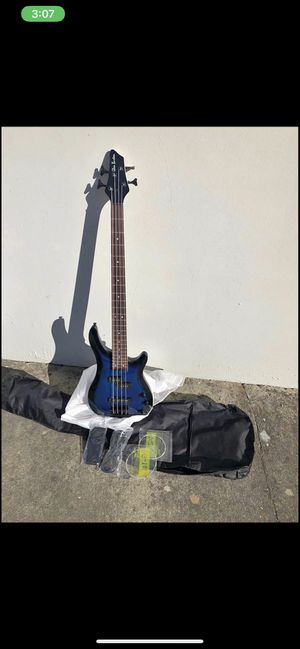Electric bass guitar 4 string for Sale in Livermore, CA