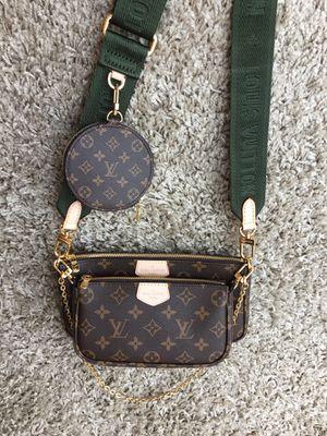 LV Monogram Louis Vuitton Multi-Pochette Accessories Crossbody Bag Purse Handbag for Sale in Lisle, IL