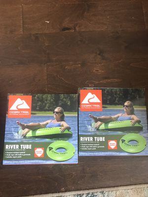 Ozark trail river tube set of 2 for Sale in Weehawken, NJ