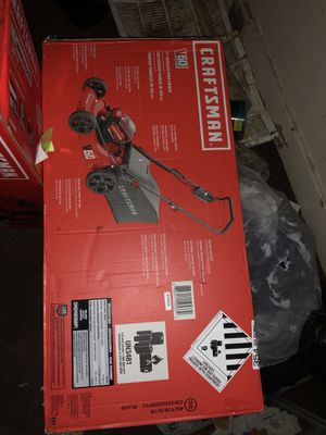 *Craftsman lawnmower & chainsaw* for Sale in Dearborn, MI