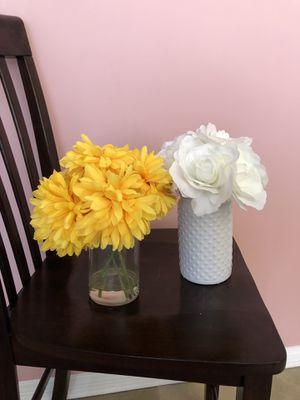 Artificial Flowers + Vase for Sale in Santa Monica, CA