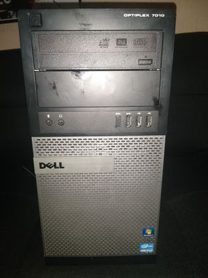 Gaming desktop computer - Dell optiplex 7010 MT i7-3770 3.40 GHz 16gb ram 1TB storage Geforce gtx 1060 xlr8 OC graphics card - $450! for Sale in Franklin Park, IL