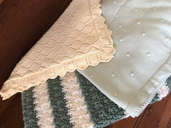 Bundle Of Baby Blankets for Sale in Windsor,  CT