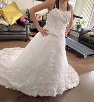 Beautiful Wedding Dress. Size 6 for Sale in Henderson, NV