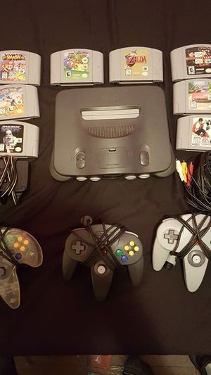 Nintendo 64 with games for Sale in Columbus, OH