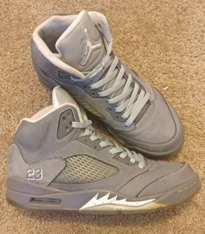 Jordan 5 Retro 'Wolf Grey' men's Size 9 for Sale in Lakewood, CA