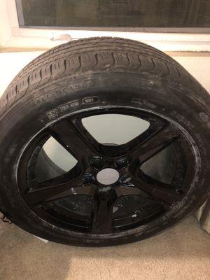 "4 18"" Stock Cheverolet Camaro Rims (Glossy Black) for Sale in Burbank, CA"