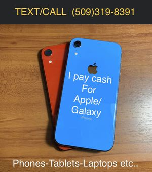 IPhone 8 Plus or Samsung s9 Plus N newer for Sale in Spokane Valley, WA