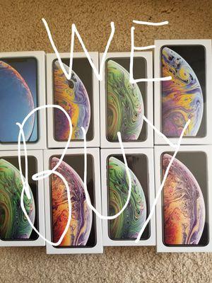 !!!webuy iphone xs max xs for Sale in Atlanta, GA