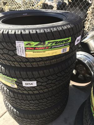 275/60/20. ALL TERRAIN. TRAIL BLADE TIRES NEW EASY FINANCING for Sale in San Diego, CA