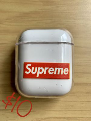 New not used Supreme AirPod case cover for Sale in Hyattsville, MD