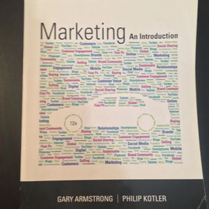 Marketing An Introduction 12th edition Textbook for Sale in San Jose, CA