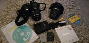 Nikon D5300 Camera /Tamron wide lens & with extras for Sale in Hercules, CA