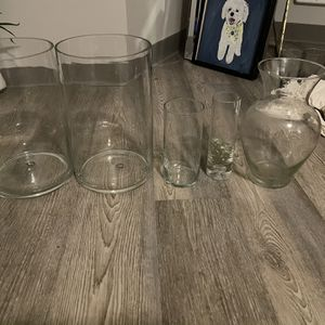 Glass Vases/ Flower Vases for Sale in Seattle, WA