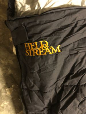 Field and Stream Sleeping Bag with Insulated Caring Bag for Sale in Clearwater, FL