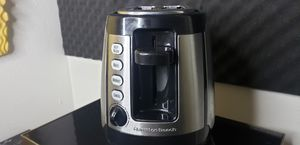 Hamilton Beach Keep Warm 2-Slice Toaster Black and Silver - Used for Sale in Chino Hills, CA