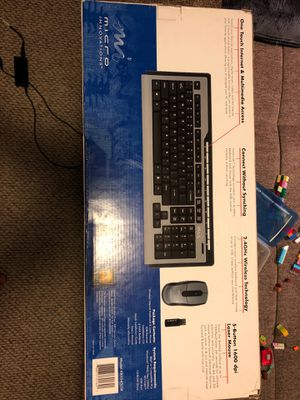 Wireless Keyboard and Laser Mouse (Discontinued by Manufacturer) for Sale in Streamwood, IL