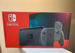 Gray nintendo switch v2 in box for Sale in Tampa, FL