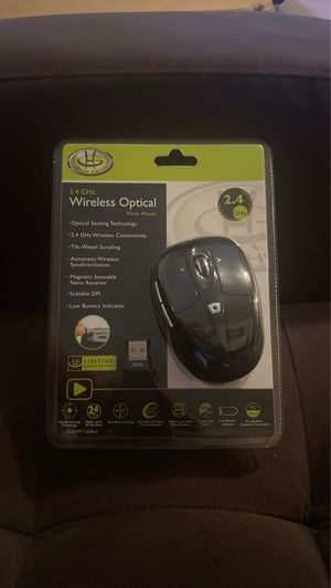 Gear Head 2.4 GHz wireless Optical nano mouse for Sale in Louisville, KY