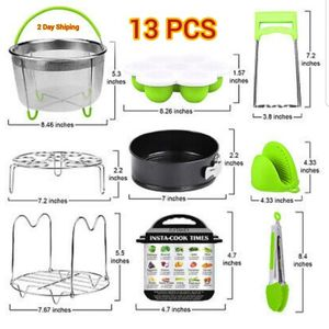 Instant pot accessories 6, 8 qt for pressure cooker , kitchen kits 13 pcs for Sale in Escondido, CA
