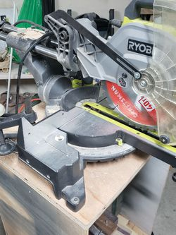 "Ryobi 10"" Sliding Miter Saw With Laser for Sale in Vancouver,  WA"