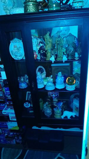 Old antique cabinet over 100 years old its beautiful for Sale in Simpsonville, SC